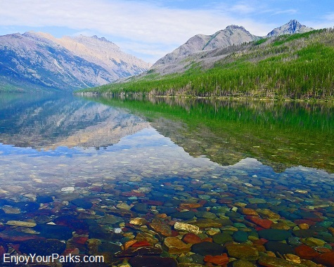 Kintla Lake, Boulder Pass Trail, Glacier National Park