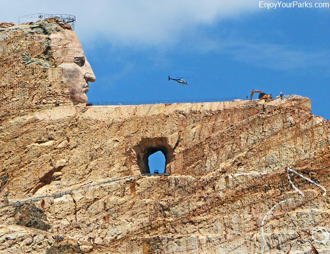 Crazy Horse Memorial, Black Hills, South Dakota