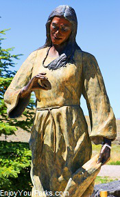 Sacajawea Statue, Fort Washakie, Wyoming