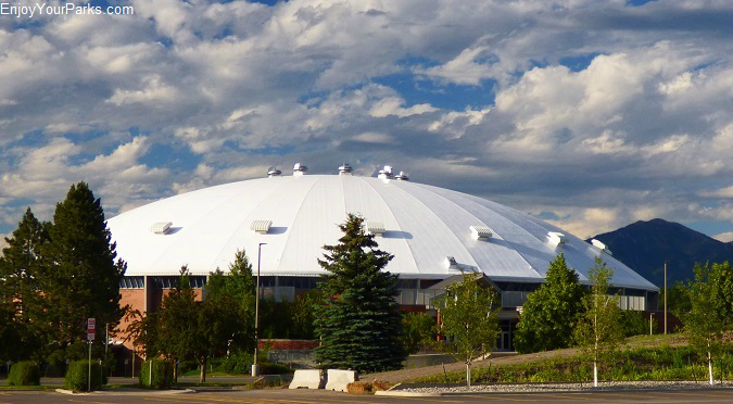 Brick Breeden Fieldhouse, Montana State University Bozeman