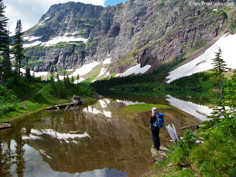 Morning Star Lake, Cut Bank Area, Glacier National Park