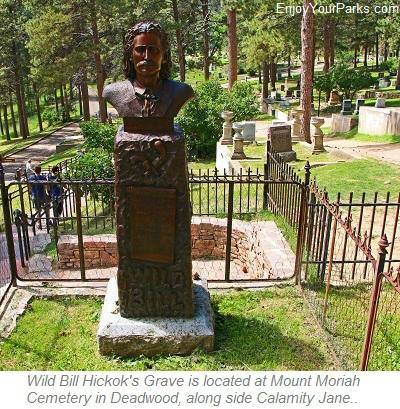Wild Bill Hickok's Grave, Deadwood South Dakota