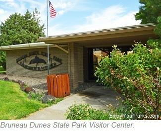 Bruneau Dunes State Park Visitor Center, Idaho