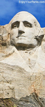 George Washington, Mount Rushmore National Memorial, South Dakota