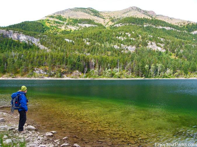 Crandell Lake, Waterton Lakes National Park