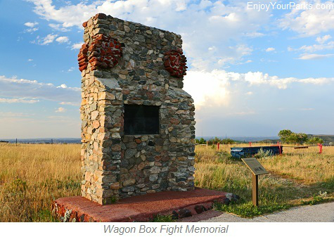 Wagon Box Fight, Fort Kearny State Historic Site, Wyoming