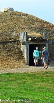 On-A-Slant Indian Village, Fort Abraham Lincoln State Park, North Dakota