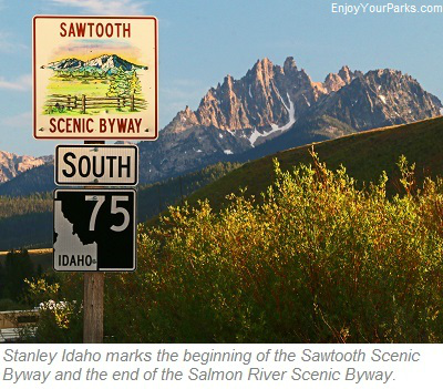 Sawtooth Scenic Byway, Stanley Idaho