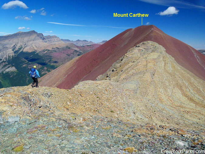 West ridge of Mount Carthew, Waterton Lakes National Park