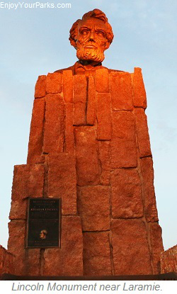 Lincoln Monument, Laramie Wyoming