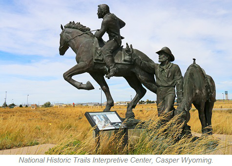 National Historic Trails Interpretive Center, Casper Wyoming