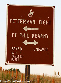 Fort Phil Kearney State Historic Site, Wyoming
