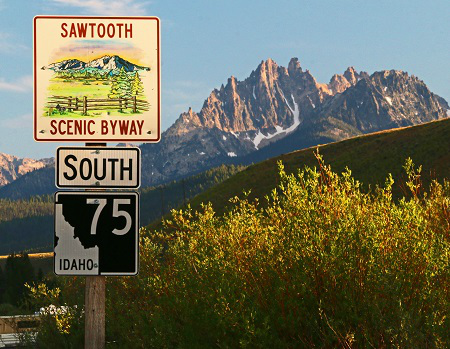 Sawtooth Scenic Byway, Idaho