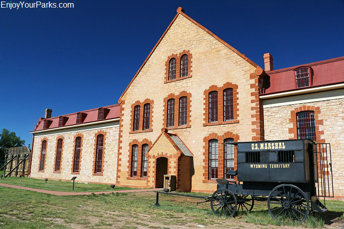 Historic Wyoming Territorial Prison in Laramie Wyoming