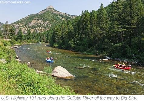 Gallatin River, Gallatin Canyon Montana