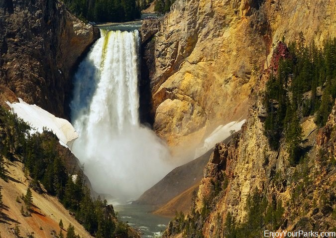 Lower Falls, Grand Canyon of the Yellowstone, Yellowstone National Park, Wyoming