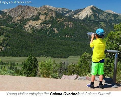 Galena Overlook, Sawtooth Scenic Byway, Idaho