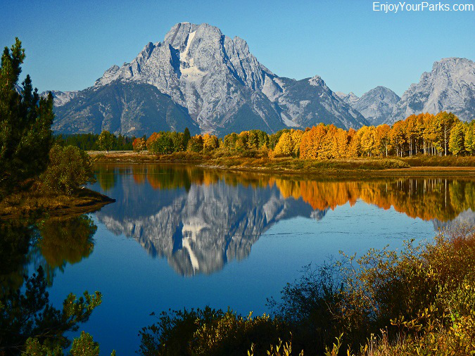 Oxbow Bend with Mount Moran, Grand Teton National Park, Wyoming