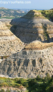 Badlands, Theodore Roosevelt National Park, North Dakota