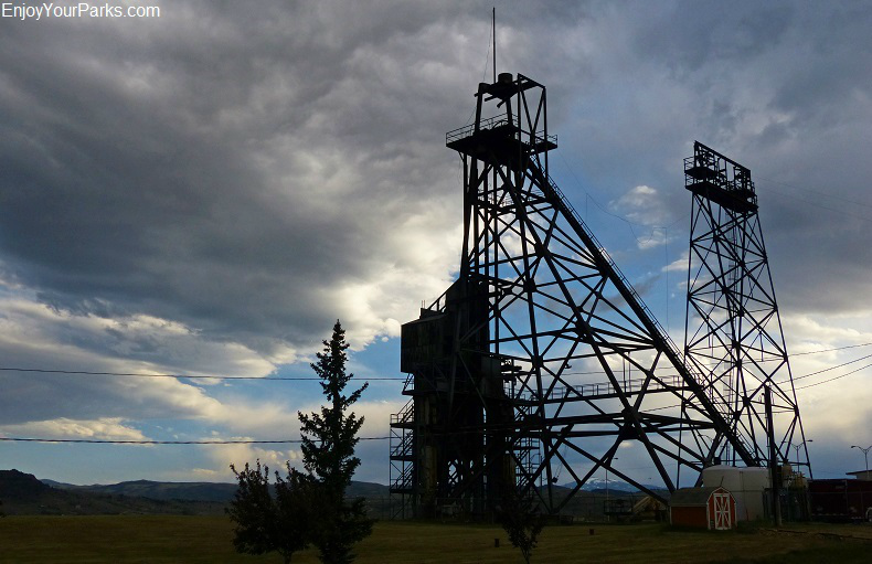 Mining Headframes, Butte National Landmark District, Butte Montana