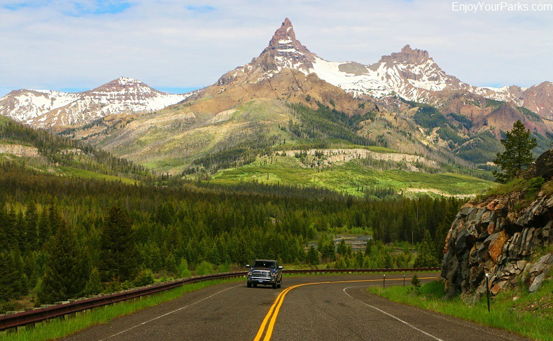 Pilot and Index Peak, Chief Joseph Scenic Byway, Wyoming