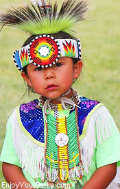 Young Wyoming Native American