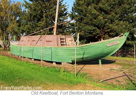 Keelboat, Fort Benton Montana