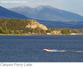 Canyon Ferry Lake Montana