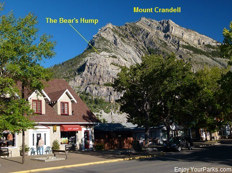 A view of The Bear's Hump from Waterton Townsite, Waterton Lakes National Park