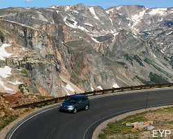 Scenic Beartooth Highway, Montana.