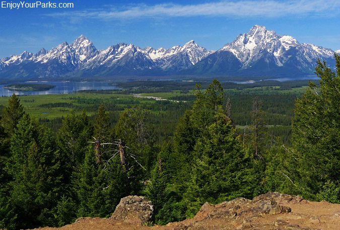 Grand View Point, Grand Teton National Park