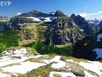 Boulder Pass Overlook, Glacier Park