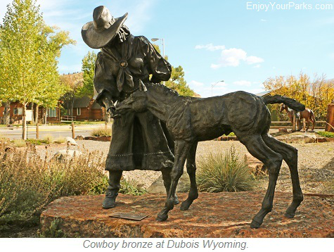 Dubois Wyoming, Wyoming Centennial Scenic Byway