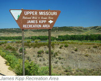 James Kipp Recreation Area, Charles M. Russell National Wildlife Refuge