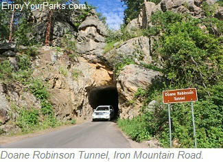Doane Robinson Tunnel, Iron Mountain Road, South Dakota