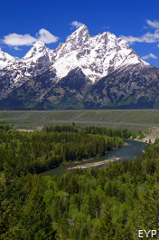 Grand Teton National Park Overlooks