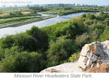 Missouri Headwaters State Park, Montana