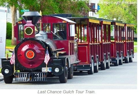 Last Chance Gulch Tour Train, Helena Montana