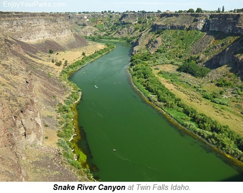 Snake River Canyon, Twin Falls Idaho