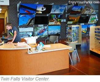 Twin Falls Visitor Center