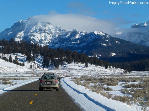 Road to Cooke City Montana, Yellowstone National Park