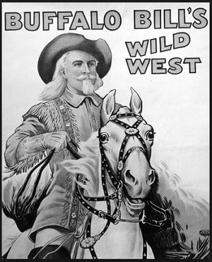 Buffalo Bill Cody's Wild West poster
