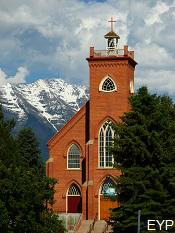 Historic St. Ignatius Mission, Montana