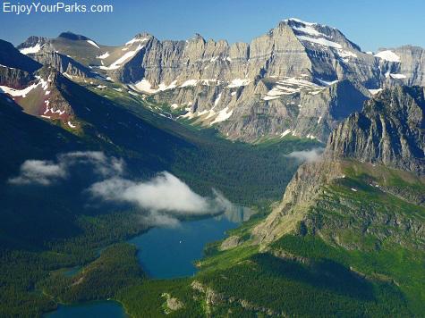 Mount Gould, Many Glacier Area, Glacier National Park