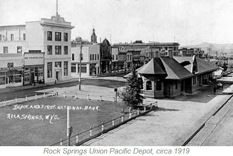 Union Pacific Depot, Rock Springs Wyoming