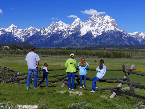 Near Elk Ranch Flats Turnout, Grand Teton National Park