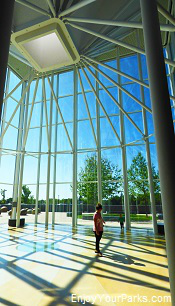 Northern Lights Atrium, North Dakota Heritage Center, Bismark