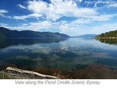 Pend Oreille Scenic Byway, Idaho