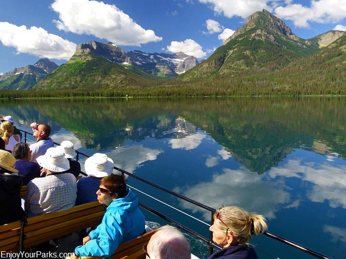 Waterton Lake Boat Tour, Goat Haunt Montana, Glacier National Park