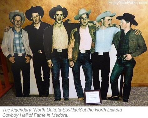 North Dakota Six Pack, North Dakota Cowboy Hall of Fame, Medora, North Dakota